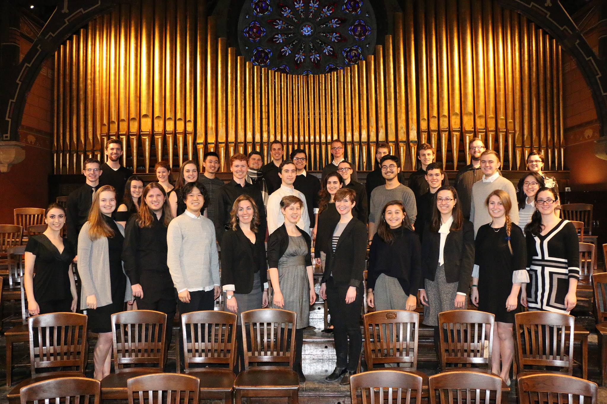 Cornell Chamber Singers group photo