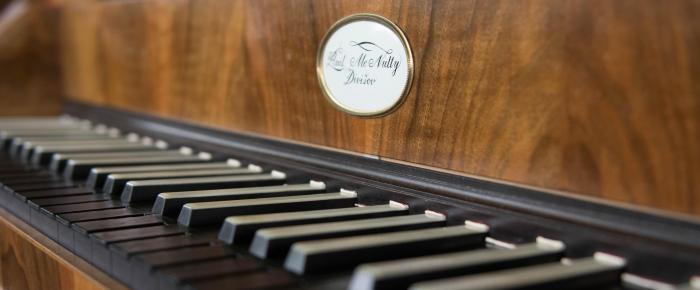 McNulty fortepiano keyboard
