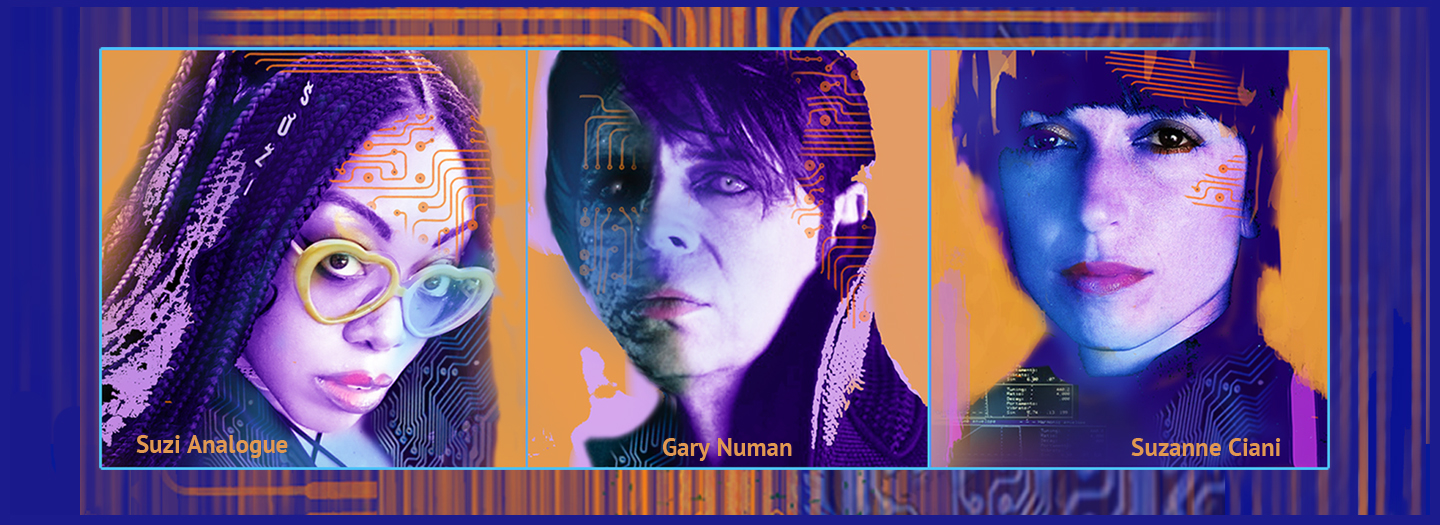 When Machines Rock: Suzi Analogue, Gary Numan, Suzanne Ciani