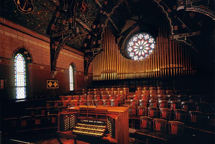 Aeolian Skinner organ (1940) in Sage Chapel