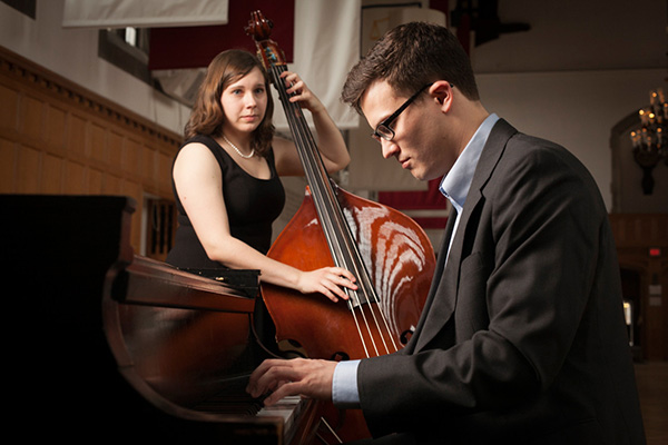 Jazz bassist and pianist