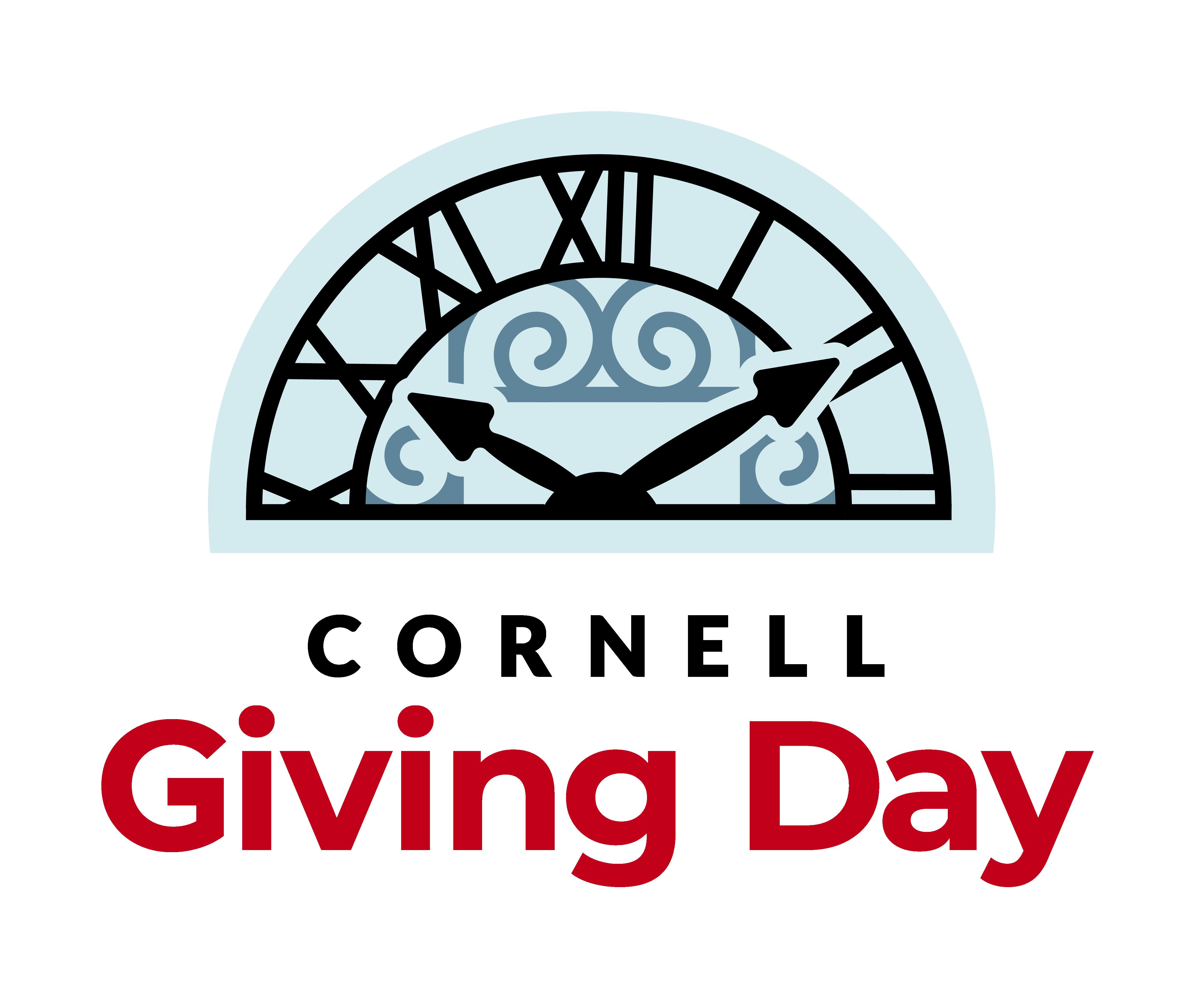 Giving Day clock logo