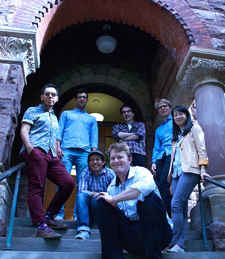 PhD students at Lincoln Hall