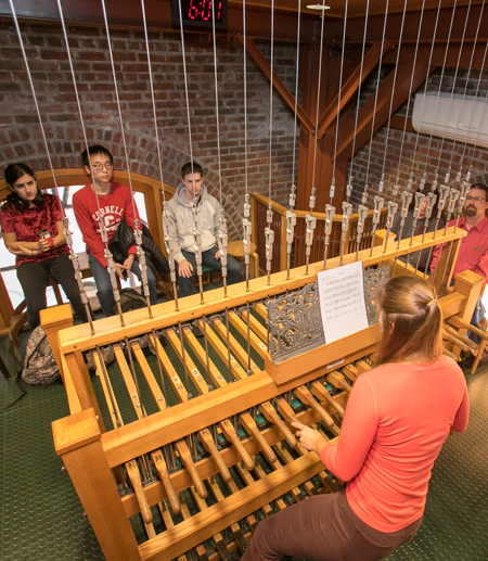 Cornell Chimes perform student compositions