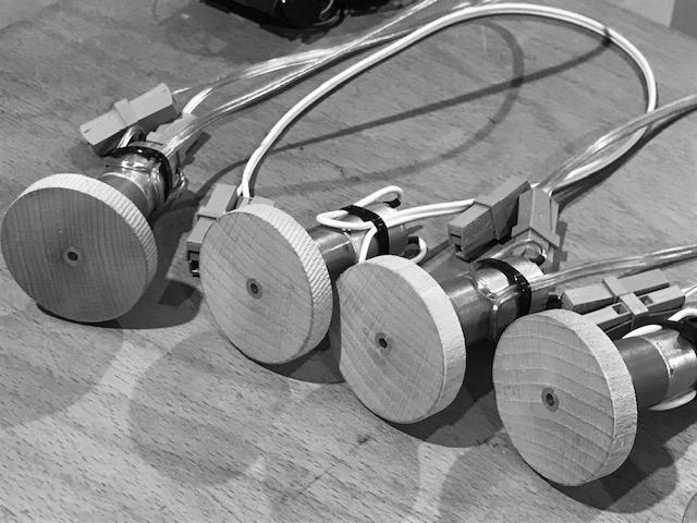 Generator wheel motor device