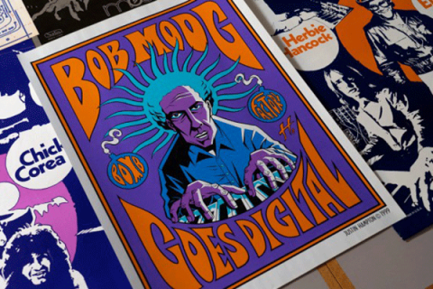 Psychedelic posters from the 60s