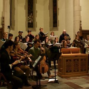 Chamber Singers Rehearsal
