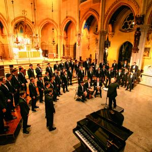 Cornell Glee Club performs on its 150th anniversary tour
