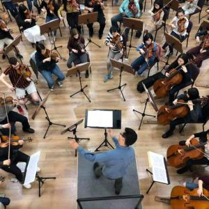Cornell Orchestra on tour in Taiwan