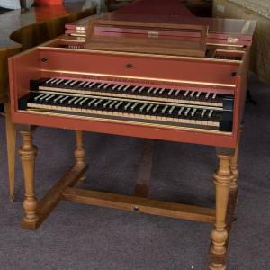 French style harpsichord by Thomas and Barbara Wolf