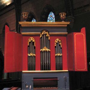 1746 Neopolitan organ in Sage Chapel